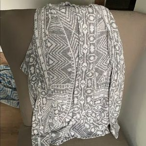 Maurices grey cardigan